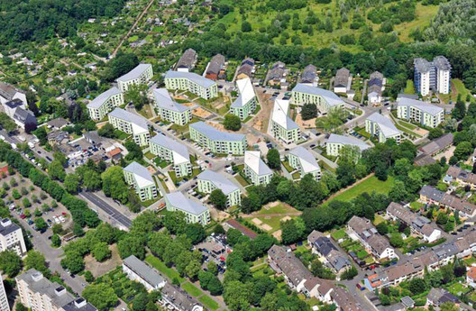 Siedlung Buchheimer Weg; ASTOC Architects and Planners. Image Courtesy of Urban Living Awards