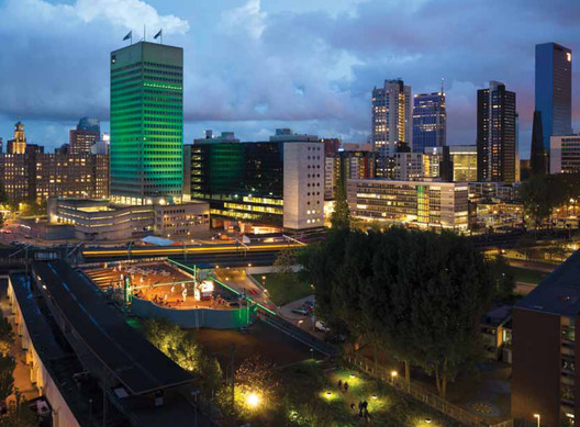 Test Site Rotterdam; ZUS (Zones Urbaines Sensibles). Image Courtesy of Urban Living Awards