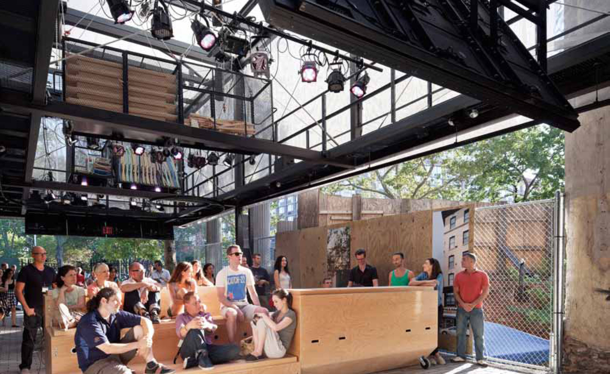 BMW Guggenheim Lab; Atelier Bow-Wow and MAGMA Architecture. Image Courtesy of Urban Living Awards