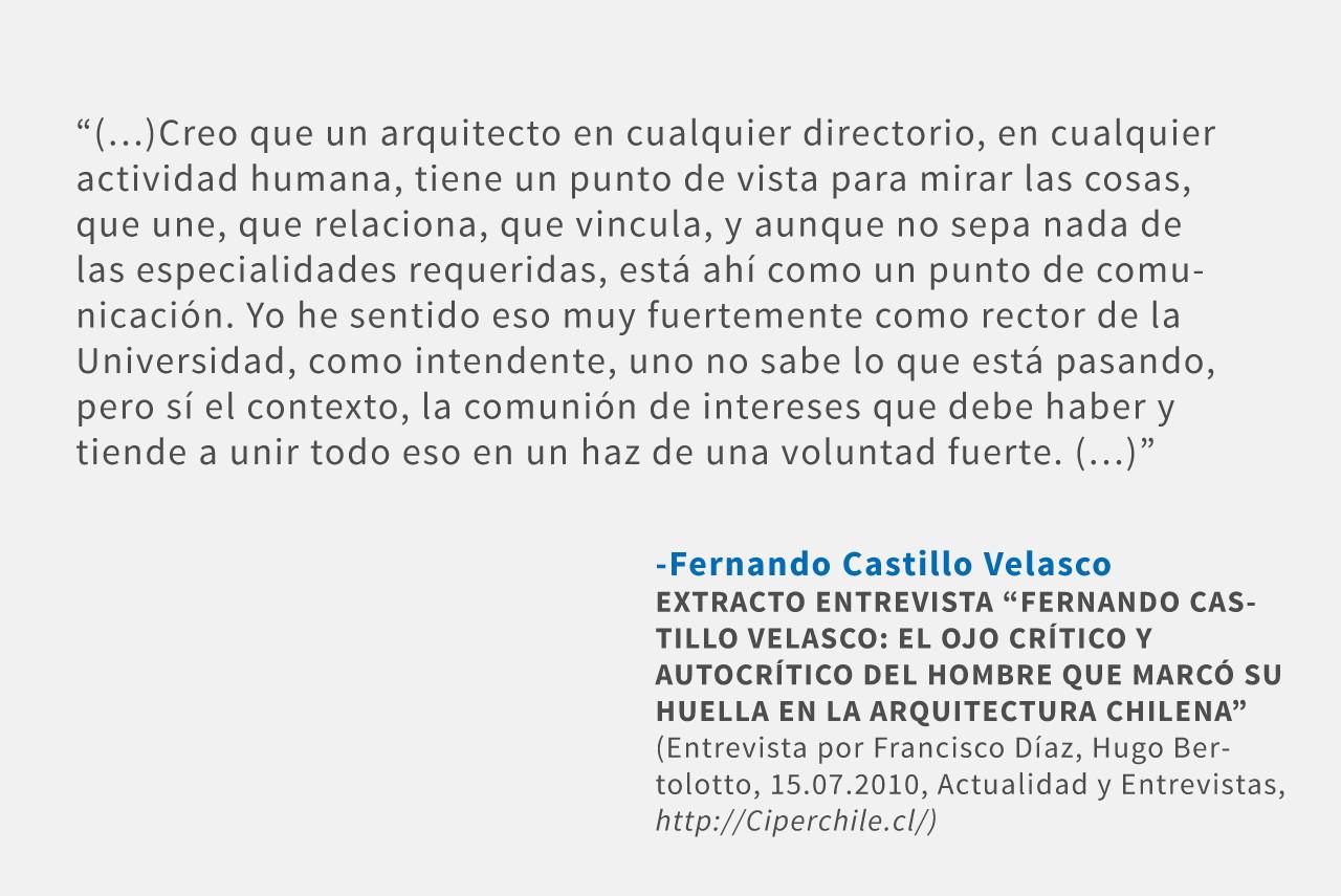 Frases: Fernando Castillo Velasco