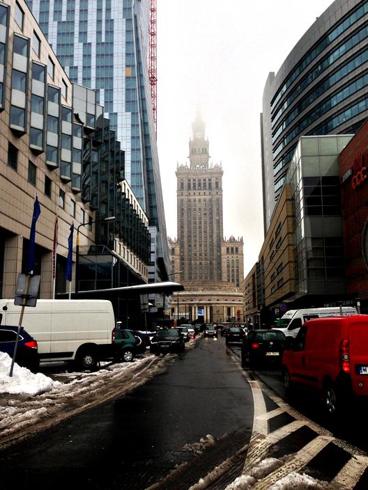 Palacio de la Cultura y la Ciencia, Varsovia. Image © Michelle Hites