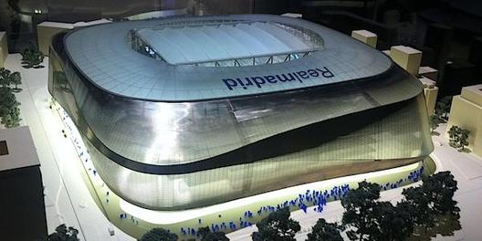 A principios del 2014 se revelará el diseño final para el estadio Santiago Bernabéu, Courtesy of Stadium Guide
