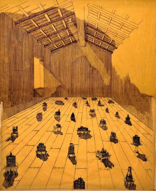 Arte y Arquitectura: Sombras Dibujadas por Gautam Bhatia, Cortesía de Gautam Bhatia