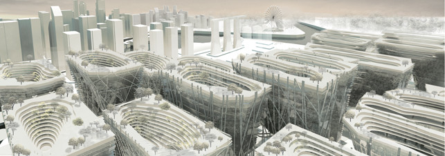 Work by Yang Han, M(Arch) Design student at NUS. Image Courtesy of http://www.arch.nus.edu.sg/gallery/