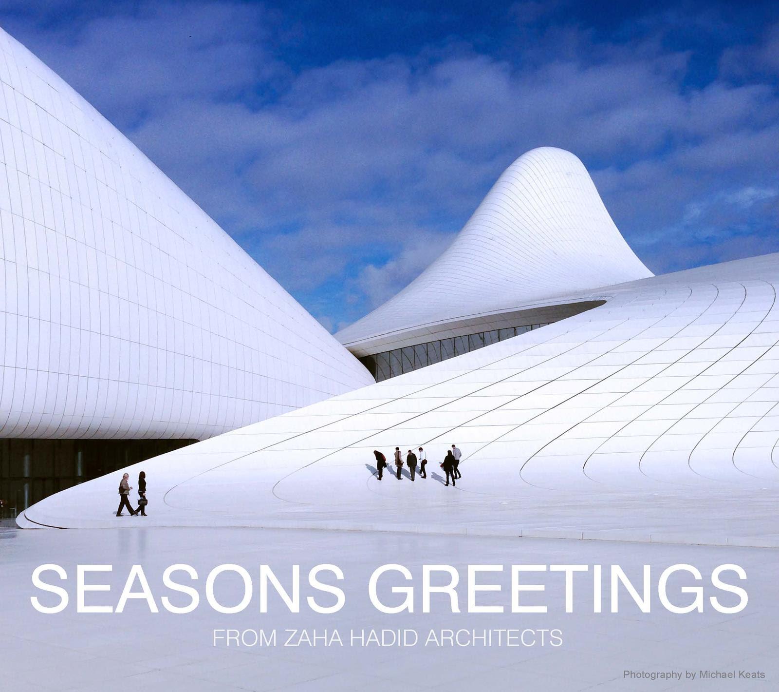 Saludos Navideños de los Arquitectos, Zaha Hadid Architects