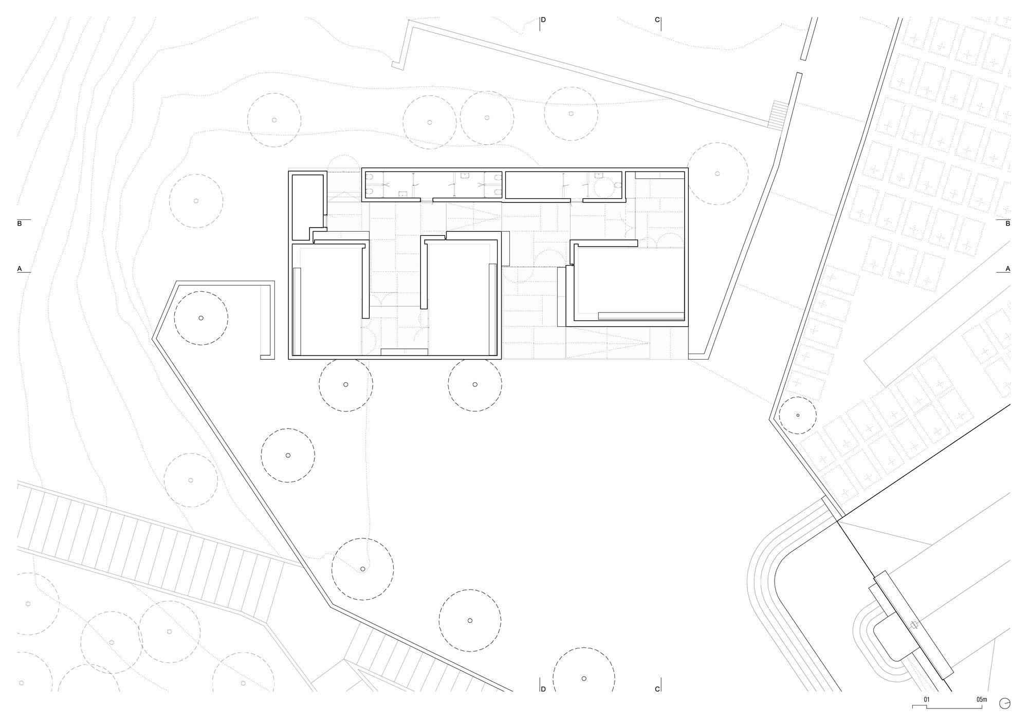 Planta. Imagen Corteasía de Matos Gameiro Arquitectos