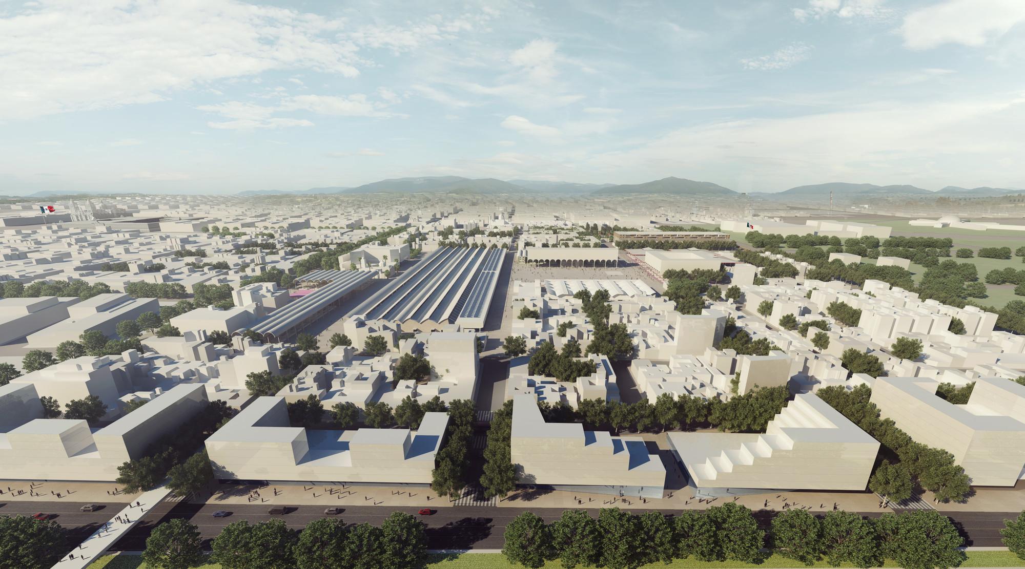 Vista aérea. Image Courtesy of José Muñoz Villers y Carlos Marín