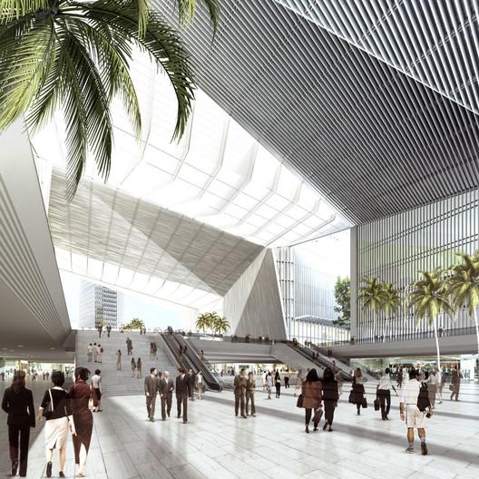 Interior Hall. Image © gmp Architekten
