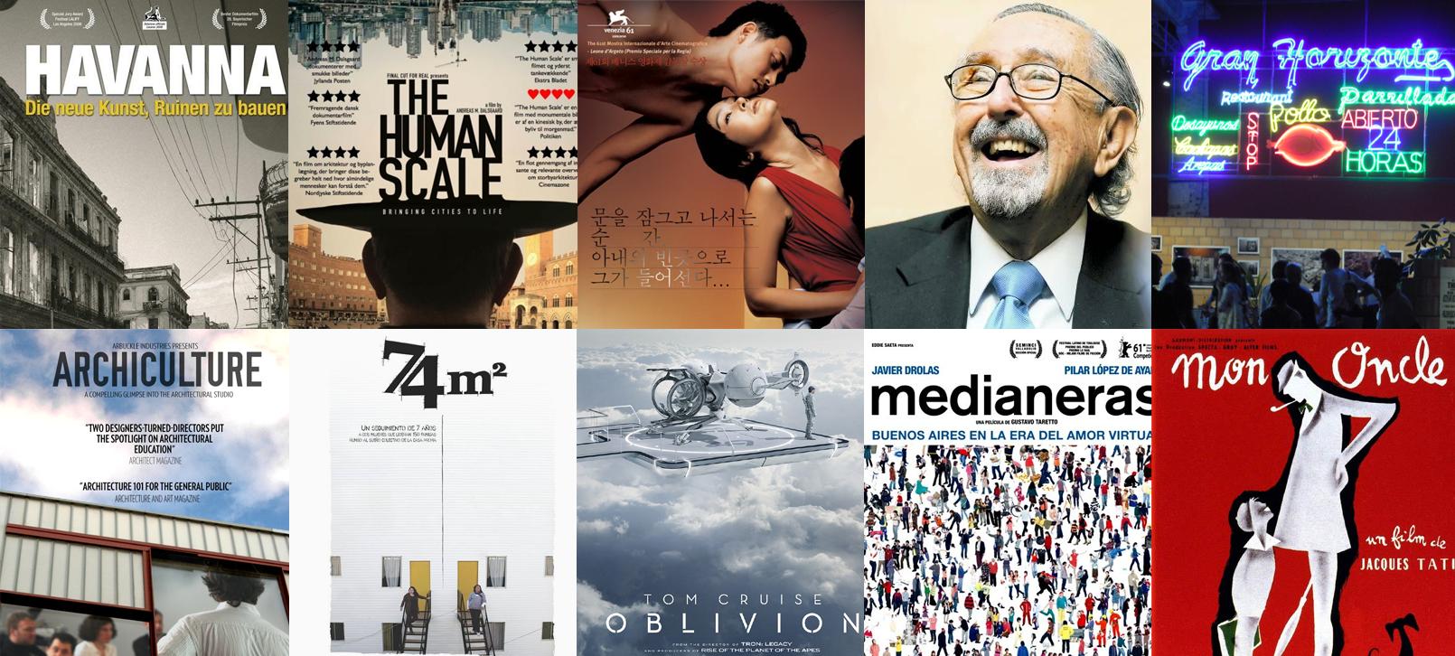 Cine y Arquitectura: Las 10 películas más vistas del 2013