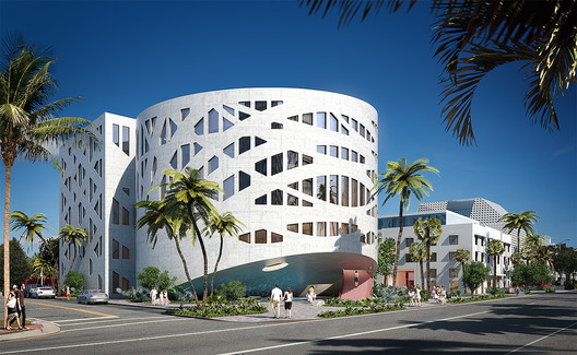 Faena Art Center by OMA. Image Courtesy of Faena