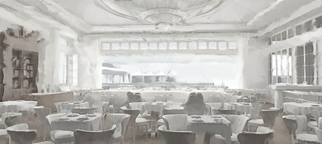Saxony Hotel Sketch. Image Courtesy of Faena