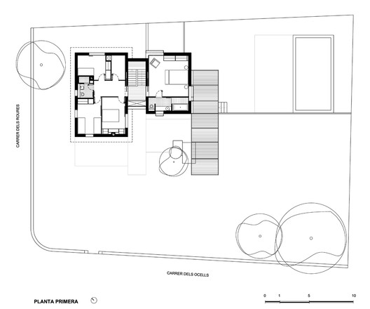 Anoro house anna eugeni bach archdaily for Bach floor plans