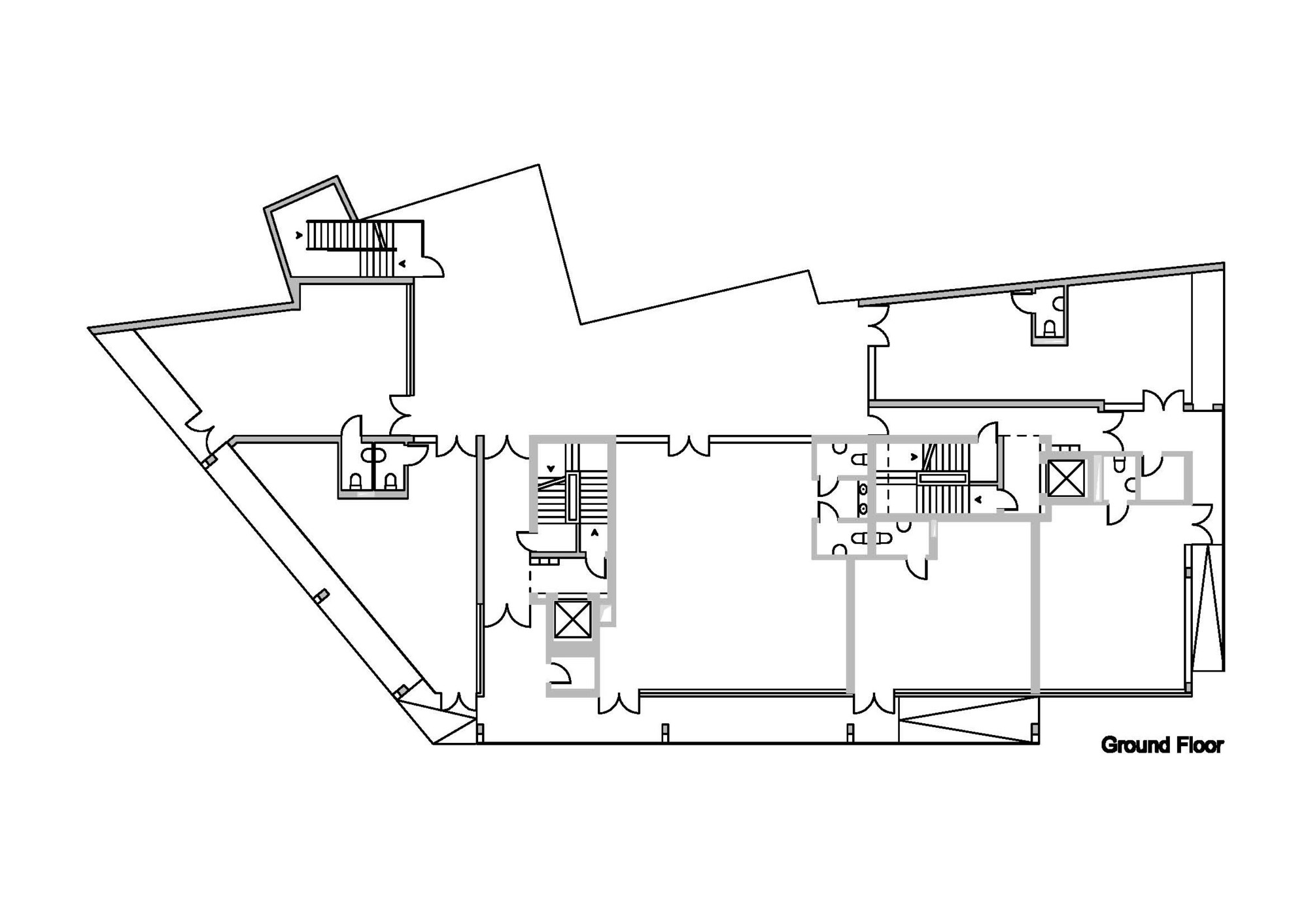 Floor plan of residential building for 15 dunham place floor plans