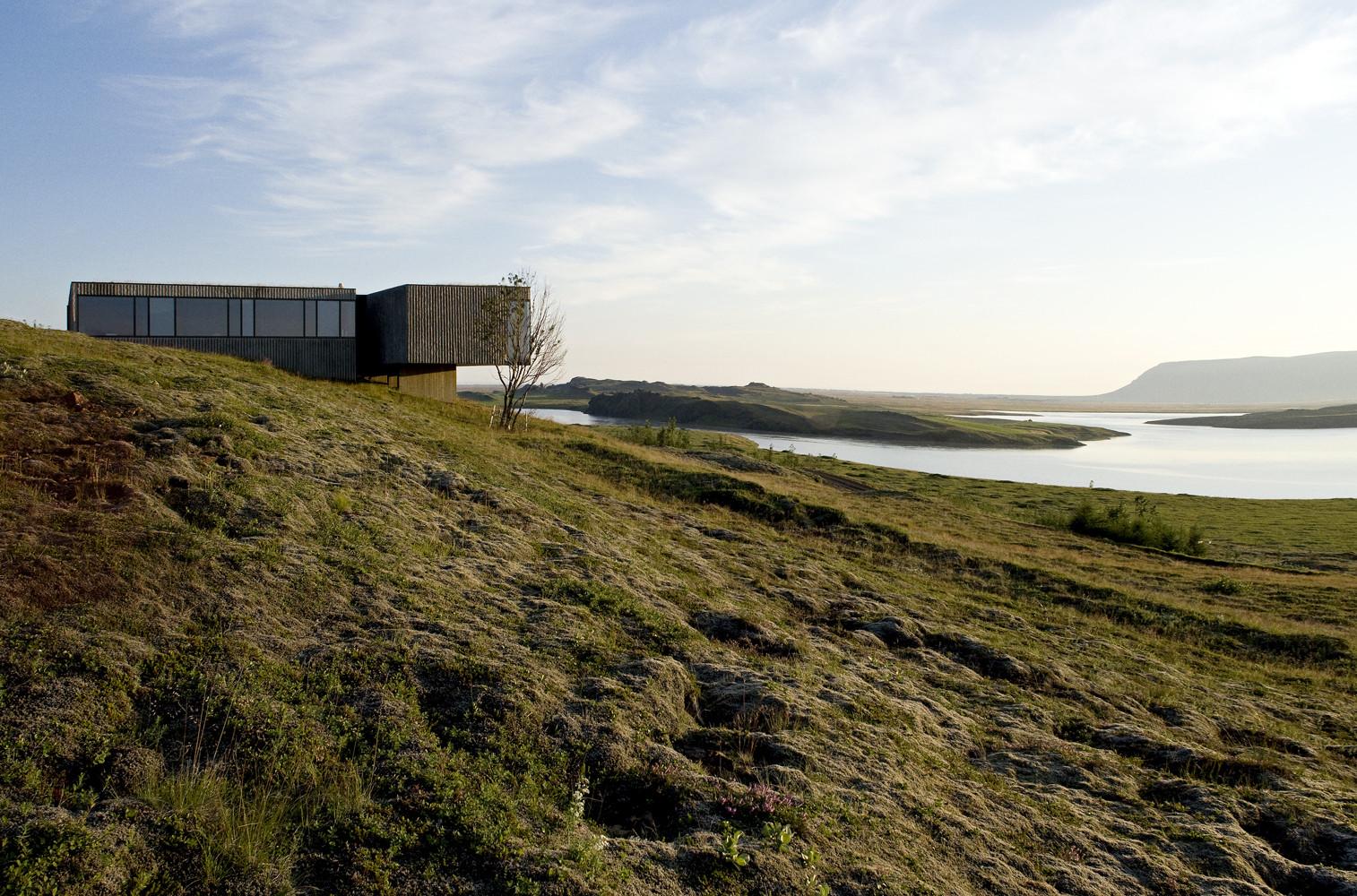 rborg house pk arkitektar archdaily