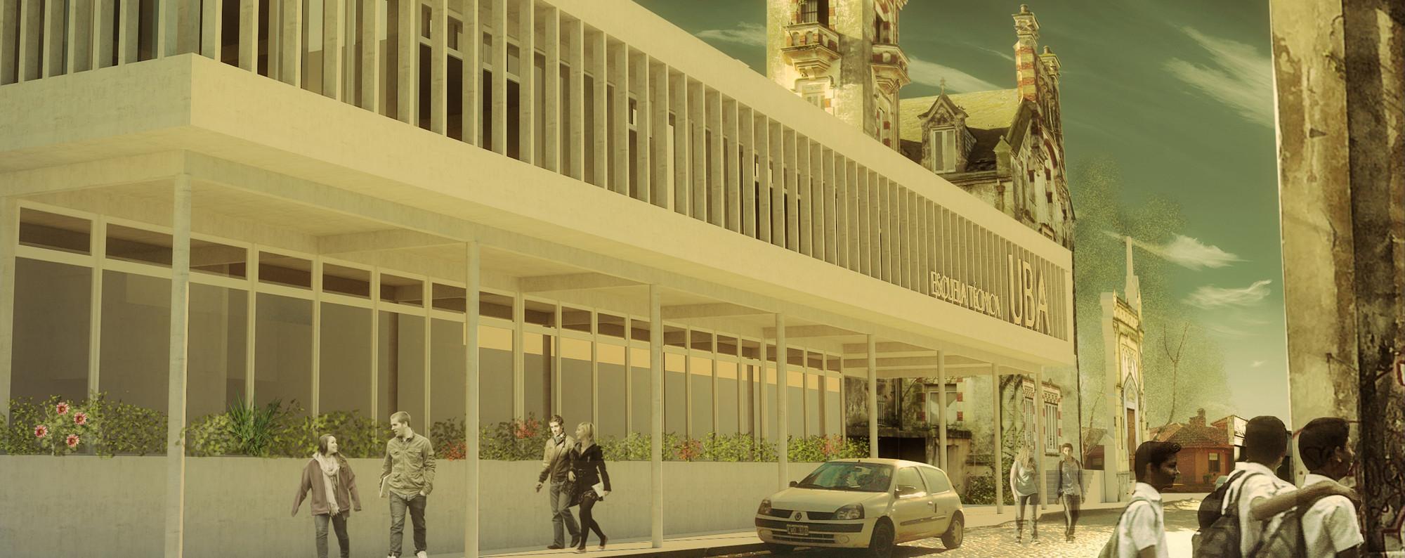 """Primer Lugar Concurso Nacional """"Clarin-SCA para estudiantes de Arquitectura, Edición 2013"""" / Argentina, Courtesy of Agostina Sambataro"""
