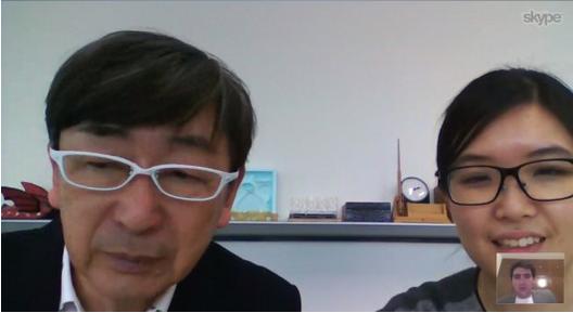 Entrevista con Toyo Ito via Skype