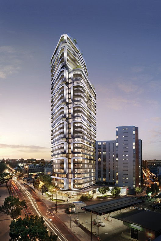 Canaletto Tower. Image Courtesy of UNStudio