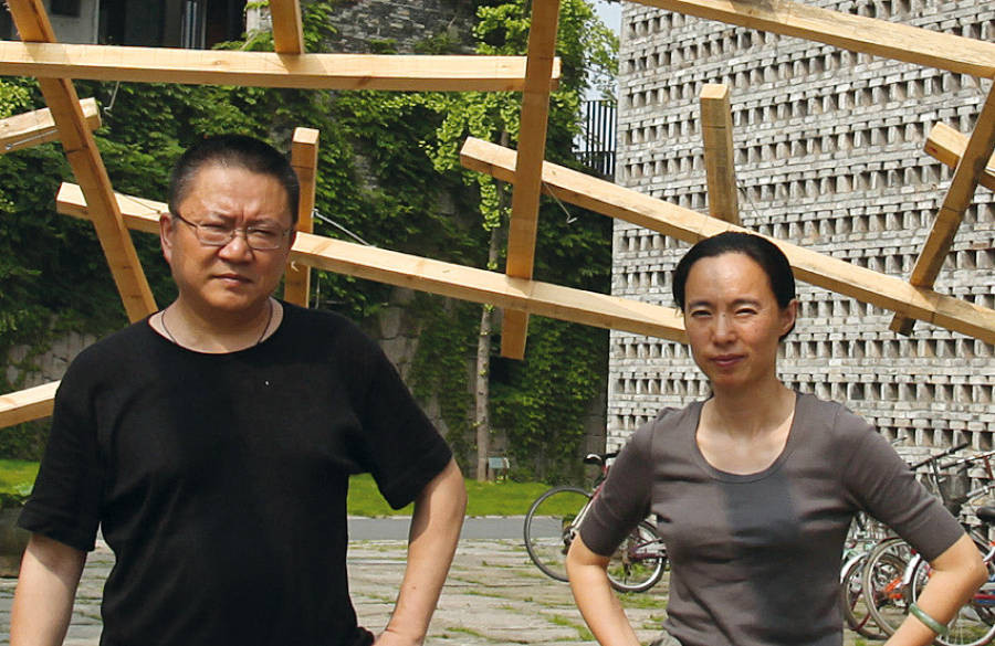 Wang Shu's Partner Lu Wenyu: I Never Wanted a Pritzker, Courtesy of www.ilgiornaledellarchitettura.com