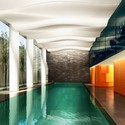 Canaletto Tower, Pool. Image Courtesy of UNStudio