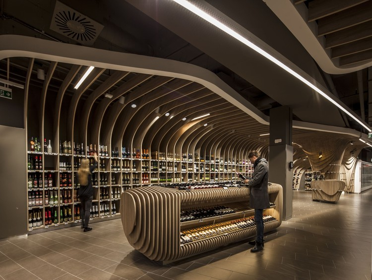 SPAR Flagshipstore / LAB5 Architects, © Zsolt Batár