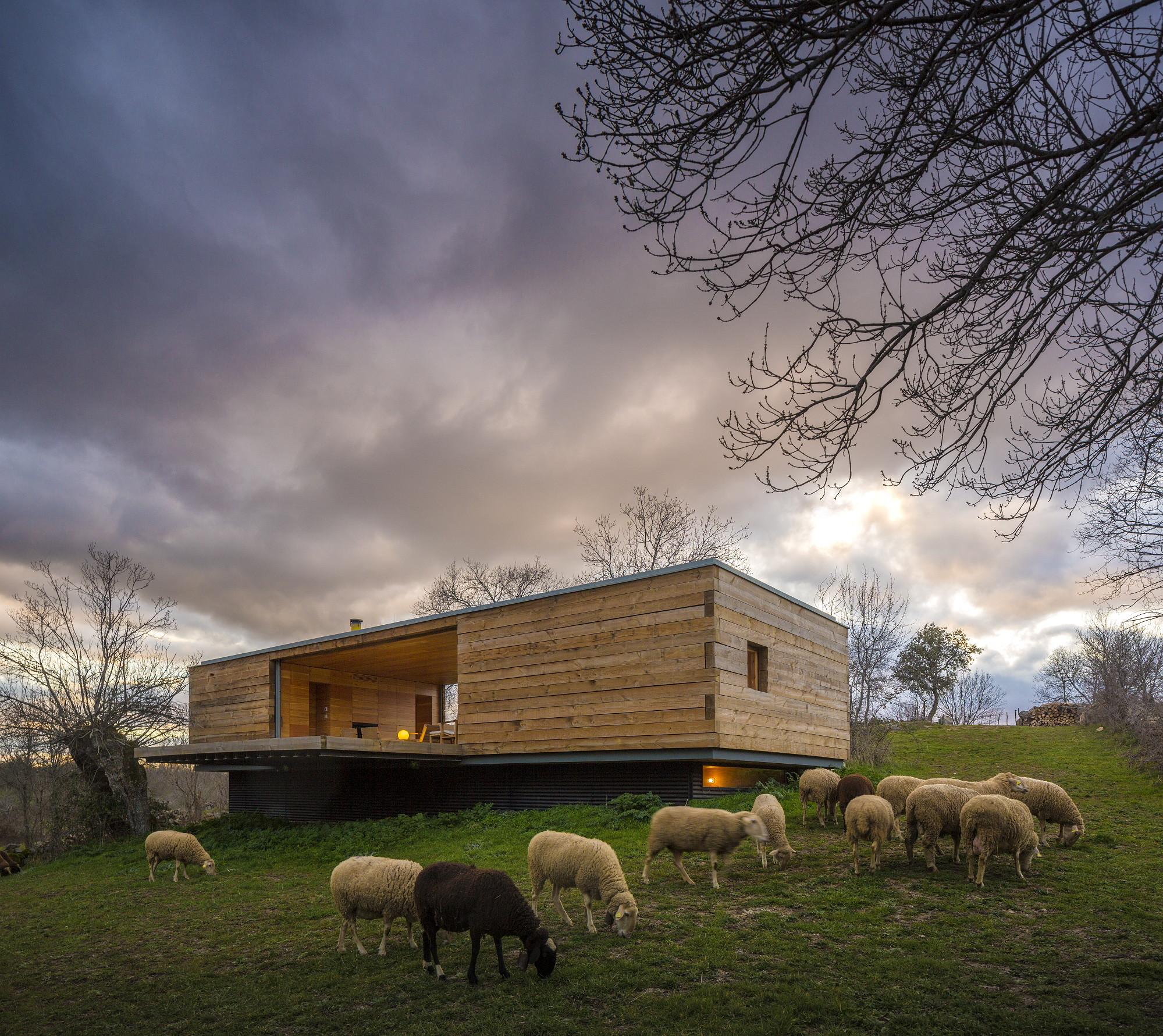 Casa B / ch+qs arquitectos, © Fernando Guerra | FG+SG
