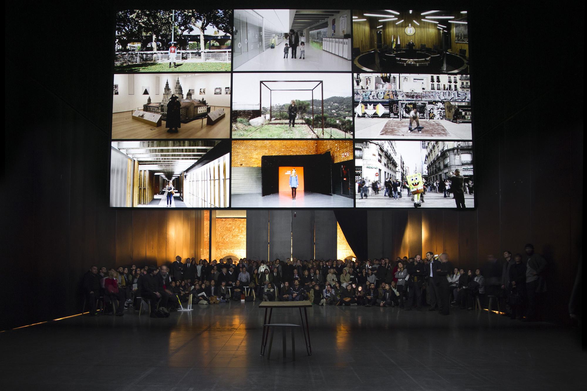 Live Architecture. Exposición BEAU XII / Taller de Casquería, © Maria Eugenia Serrano