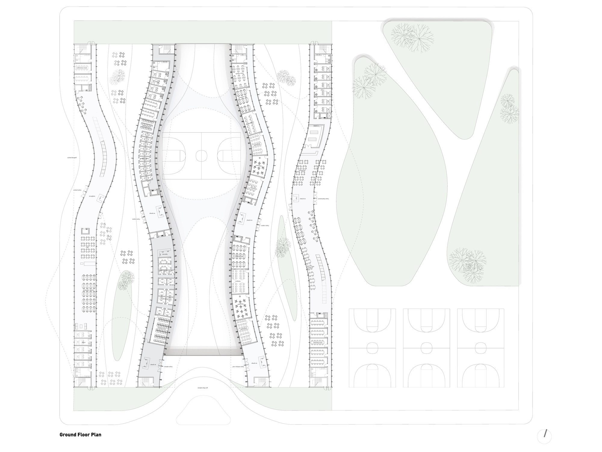 Ground Floor Plan. Image © Glen Santayana