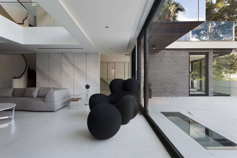 Gallery of le plan libre waterfrom design 32 for Miglior design di casa moderna