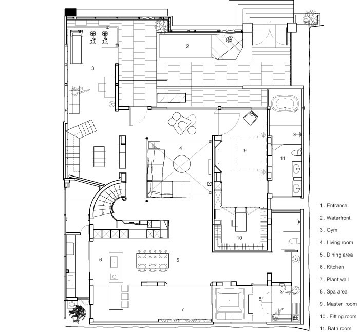 52cbad66e8e44ee34f00008b Le Plan Libre Waterfrom Design First Floor Plan moreover 7300 in addition Directional Arrows Clipart 7901 also Form Evolution besides 52c22644e8e44eb7640000cb Tete In L Air Koz Architectes Section. on view all