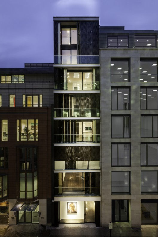10 hanover street squire and partners archdaily for Apartment design guide part 3