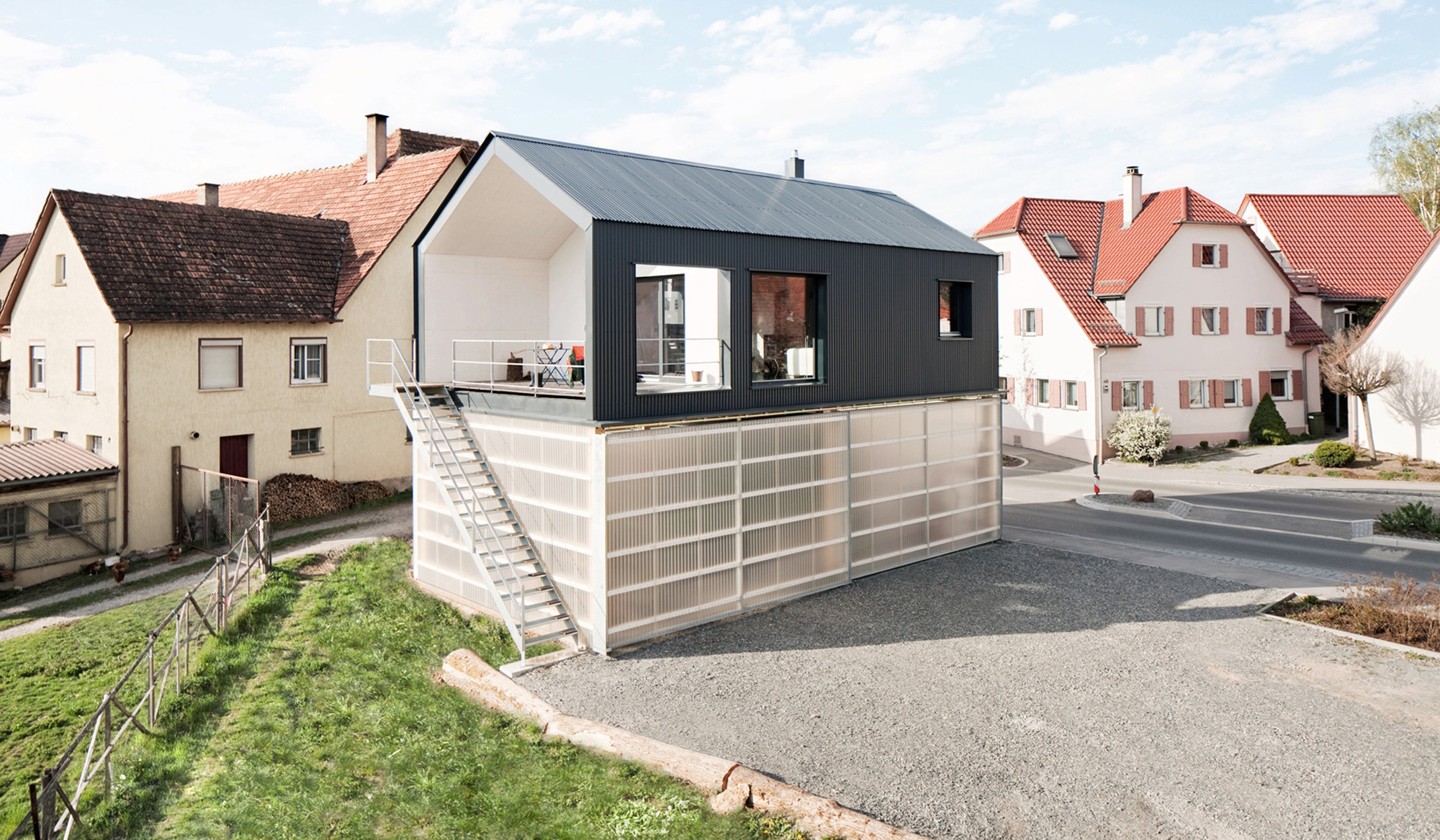 Gallery of house unimog fabian evers architecture wezel for Haus architektur