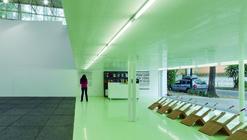 Siqueiros Public Art Gallery / arquitectura 911sc + Esrawe