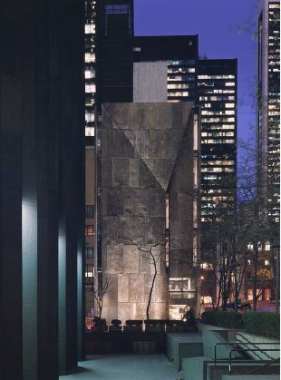 American Folk Art Museum, by Tod Williams Billie Tsien Architects. Image © Michael Moran