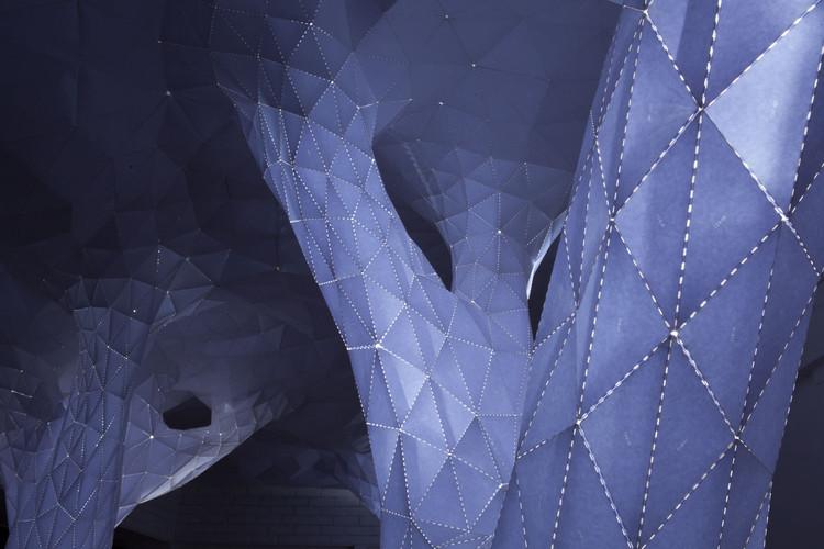 Vana: Una estructura geométrica inspirada en la luz y la naturaleza por Orproject, © Sumedh Prasad / Orproject