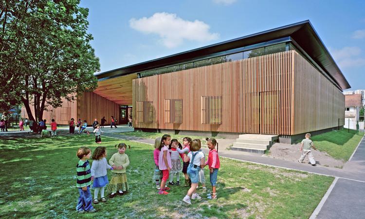 l'Ecole Jean Jaures / Marjan Hessamfar & Joe Vérons + Art'ur architectes, Cortesía de Marjan Hessamfar & Joe Vérons