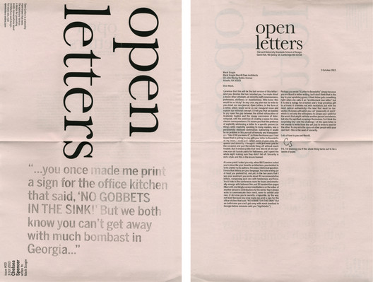 Issue 00. Image Courtesy of Open Letters
