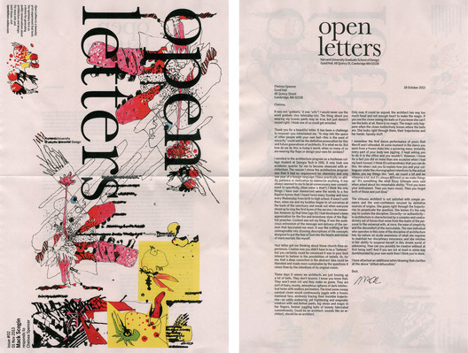 Issue 02. Image Courtesy of Open Letters