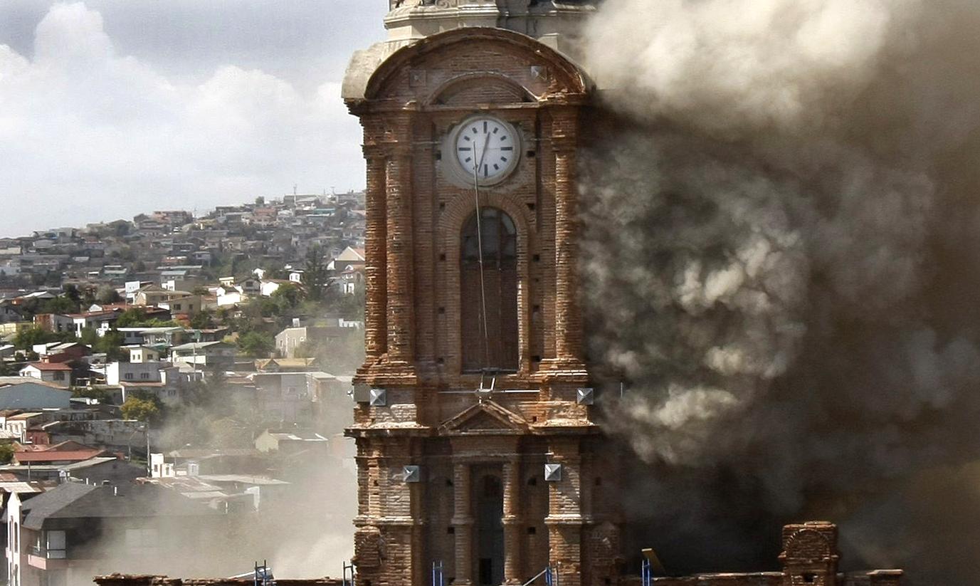 Iglesia de San Francisco, Valparaíso, Chile. Image © Vía Yoparticipo.wordpress.com