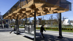 University Boulevard Transit Shelters / PUBLIC Architecture + Communication