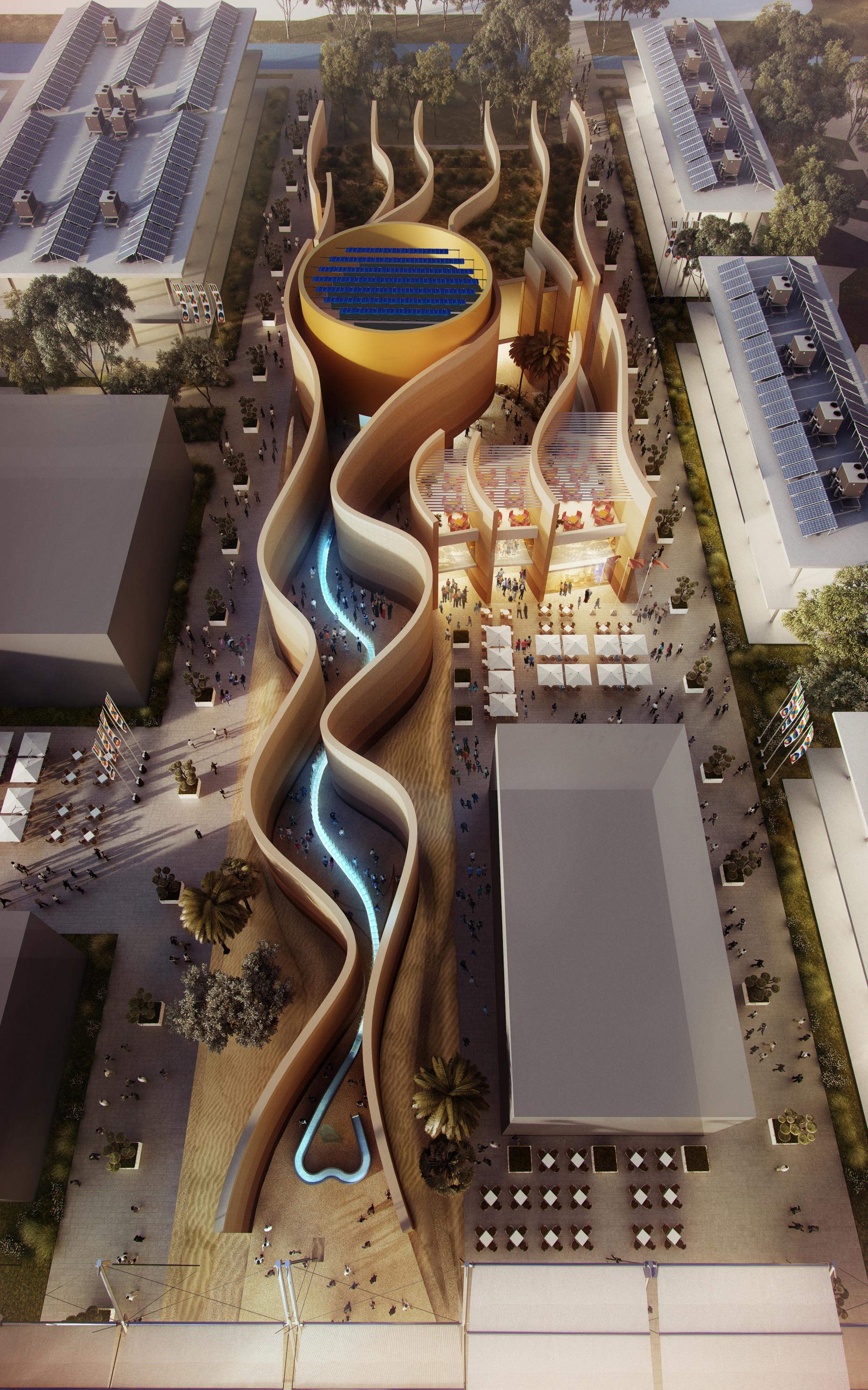 milan expo 2015 foster unveils design for uae pavilion