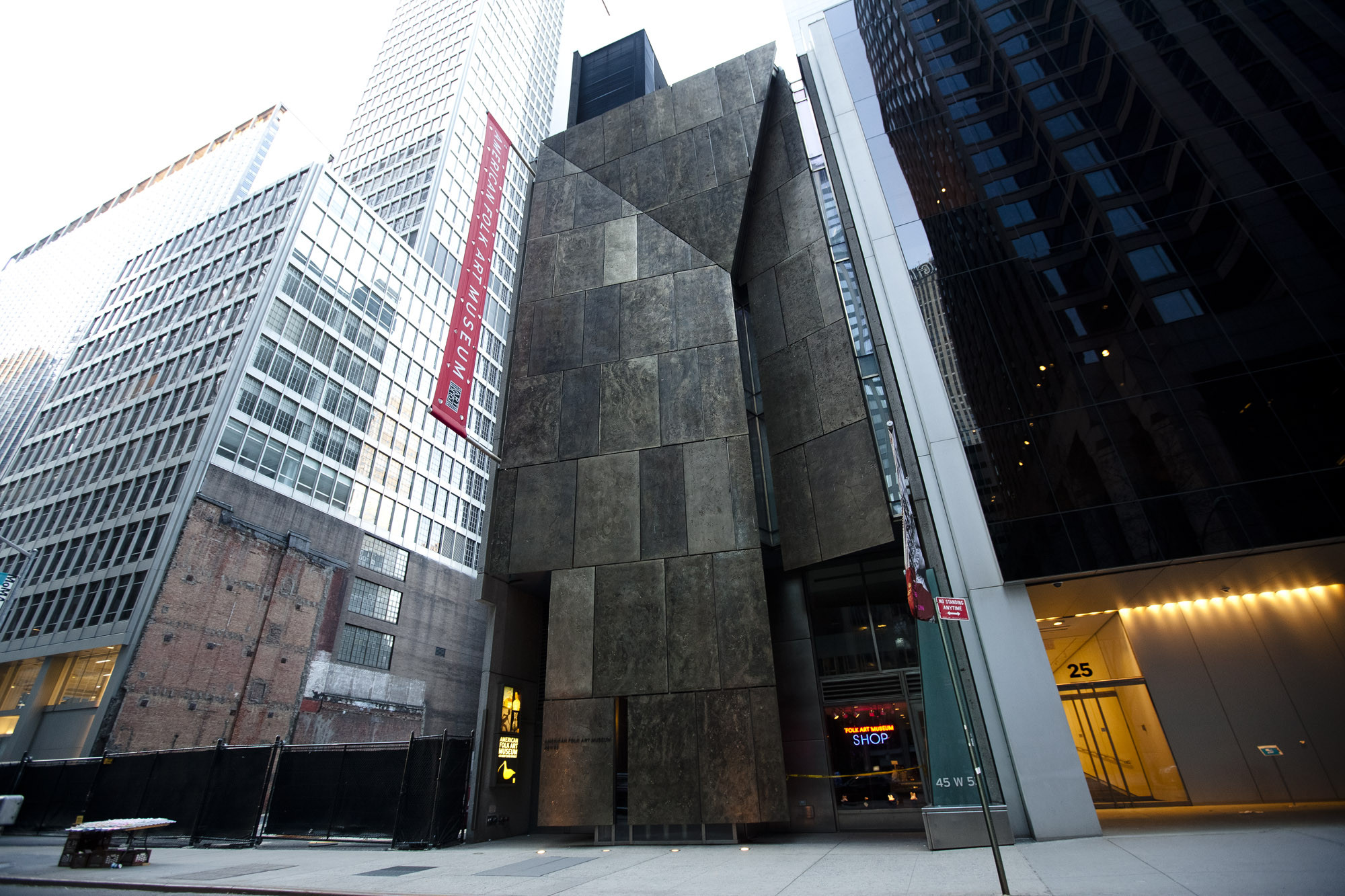 Critical Round-Up: Reaction to the Folk Art Museum's Demolition, MoMA's Expansion, American Folk Art Museum exterior. Image © Flickr CC User Dan Nguyen
