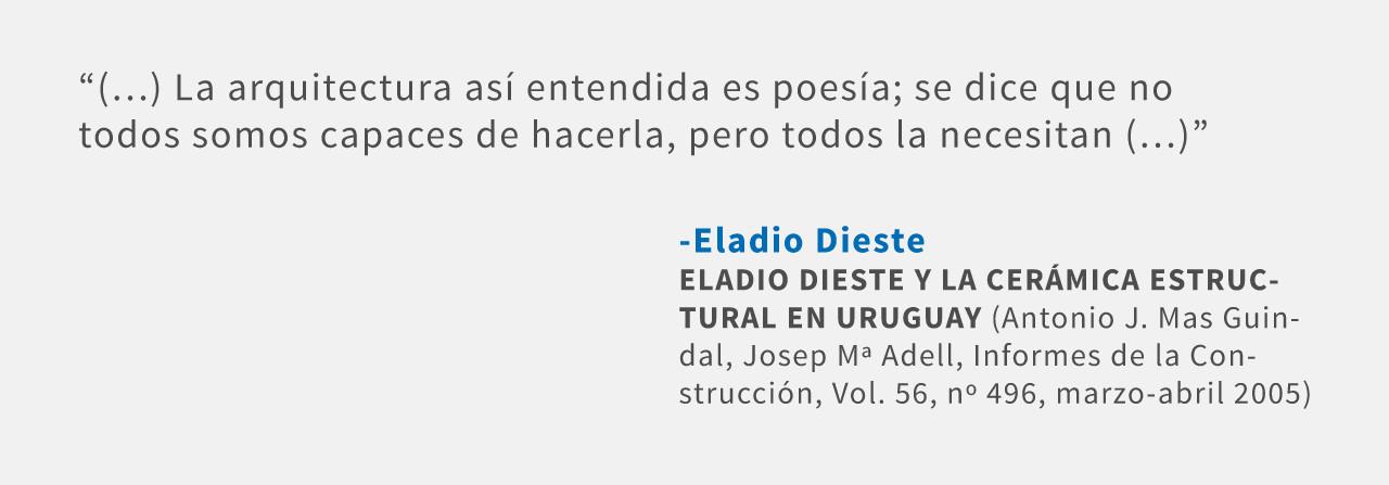 Frases: Eladio Dieste