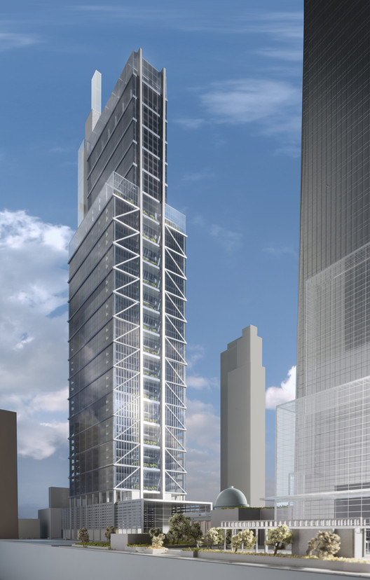 Foster Partners Unveil 1 121 Foot Comcast Tower For