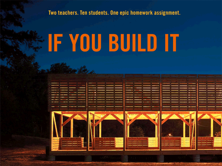 "Cine y Arquitectura: ""If You Build It"", © If You Build It"