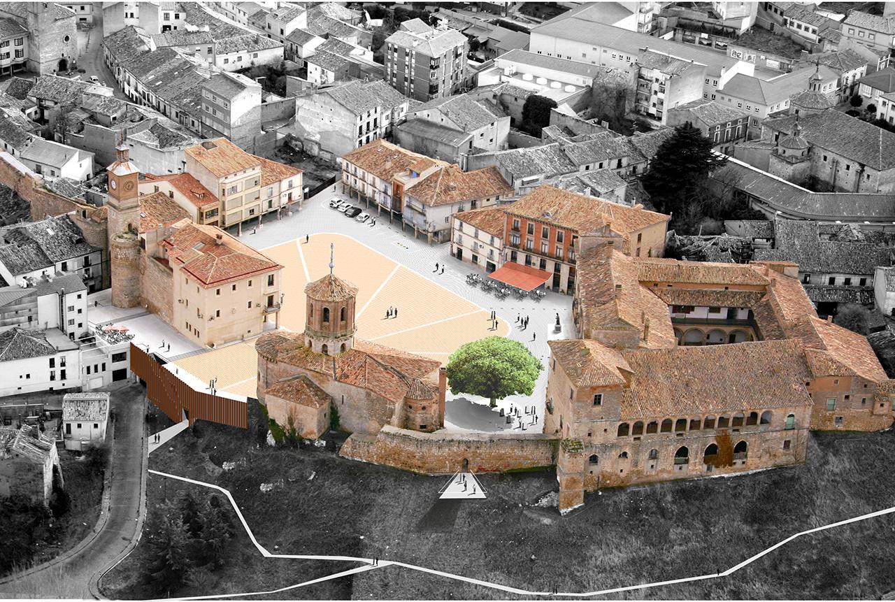 Propuesta. Image © Cortesía de CH+QS arquitectos