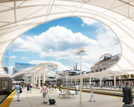 Denver Union Station Neighborhood Transformation / Skidmore, Owings & Merrill LLP © Sponge Production