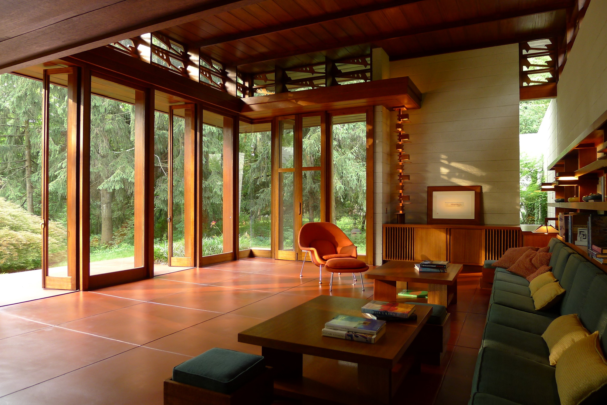 frank lloyd wright house saved archdaily. Black Bedroom Furniture Sets. Home Design Ideas