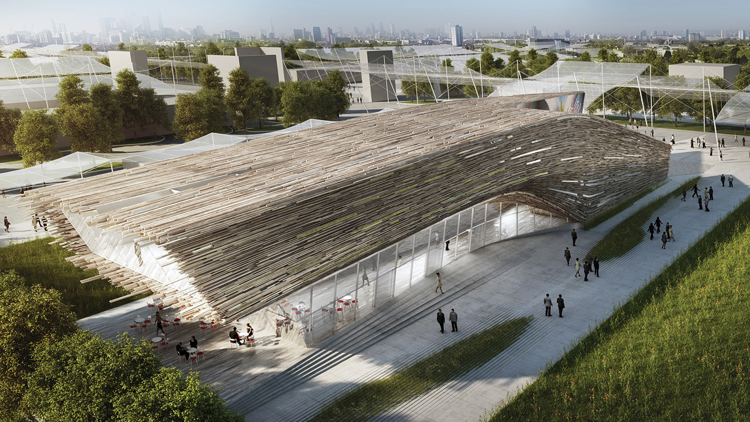 Competition Entry: Austrian Pavilion (Milan Expo 2015) / Bence Pap | Mario Gasser, © Bence Pap | Mario Gasser