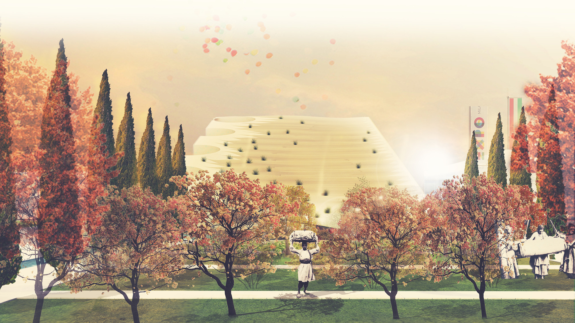 Milan Expo 2015: NJP, LAD Win Competition for Iranian Pavilion , © NJP, LAD