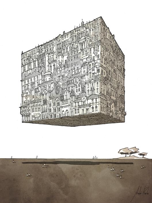 City Cube © André Rocha